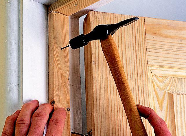 Step 2 & How to hang an internal door | Ideas u0026 Advice | DIY at Bu0026Q