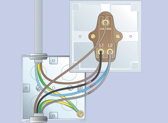 how to replace a light switch ideas advice diy at b q rh diy com 2-Way Light Switch Wiring 3-Way Switch Wiring 1 Light