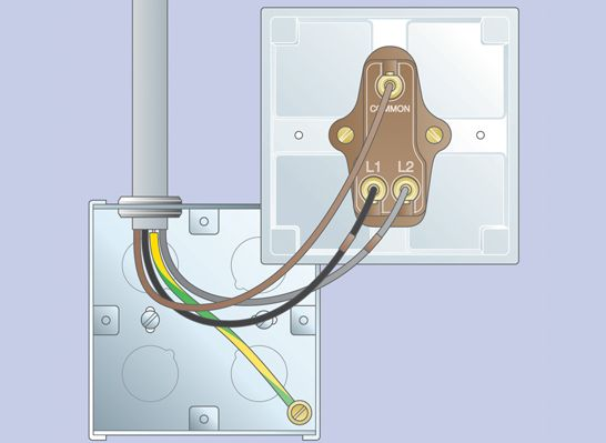 Mk Dimmer Switch Wiring Diagram : How to replace a light switch ideas advice diy at b q