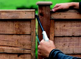 How to repair a wooden fence | Ideas & Advice | DIY at B&Q