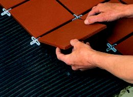 How to lay floor tiles ideas advice diy at bq step 2 ppazfo