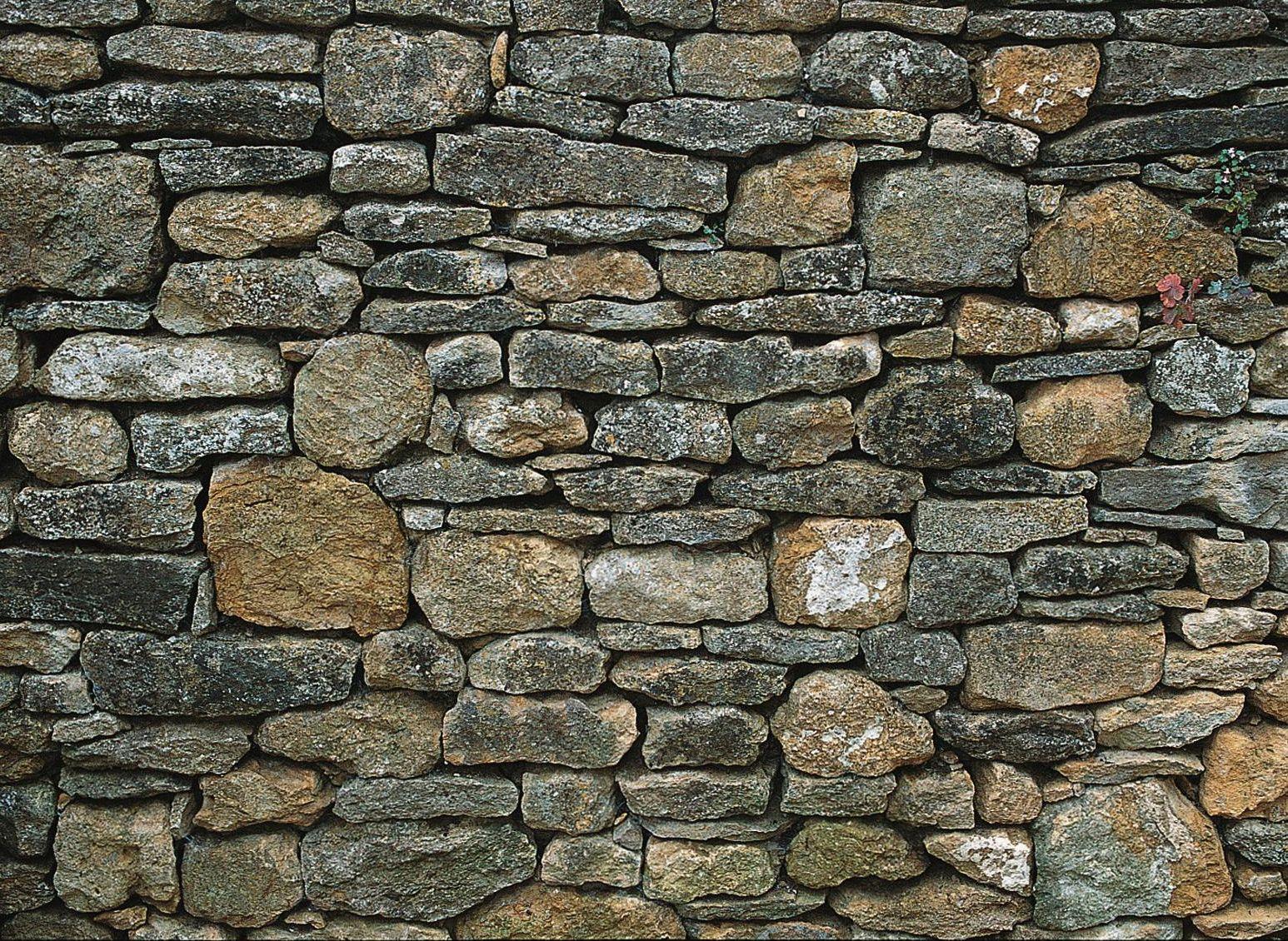 Semi Dry Stone Walls