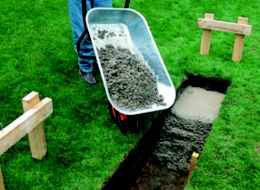 How to lay the foundations for a garden wall | Ideas