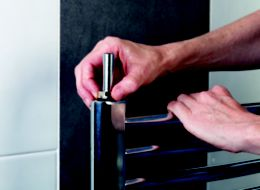 How to fit a new towel radiator | Ideas & Advice | DIY at B&Q