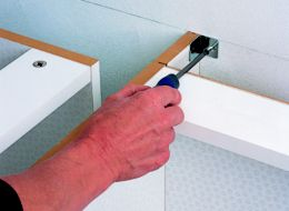 Fixings Kitchen Base Unit Bracket Plasterboard