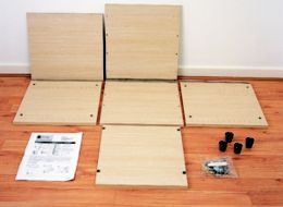 How to assemble flatpack cabinets & shelves | Ideas & Advice | DIY ...