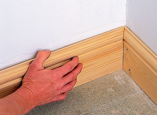 how to fit skirting board ideas advice diy at b q rh diy com fitting carpet under skirting boards fitting laminate under skirting boards